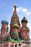 St de Kathedraal van het Basilicum, Moskou, Rusland royalty-vrije stock afbeeldingen