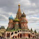 St de Kathedraal van het basilicum op Rood vierkant Royalty-vrije Stock Afbeelding