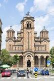 St de Kerk van het Teken, Belgrad, Servië Stock Foto
