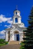 St de la iglesia - intercesión, Bielorrusia, pueblo del rojo foto de archivo libre de regalías