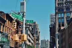 St de la placa de calle de Union Square 17mo Imagenes de archivo