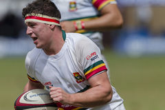 1st de Teamsmiddelbare scholen van de rugbyactie Royalty-vrije Stock Foto