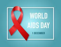 1st December World AIDS Day. Vector illustration. AIDS Awareness symbol Red ribbon.1st December World AIDS Day. Vector illustration vector illustration