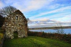 St. Declan's Way in Ardmore. St. Declan's Way is an ancient pilgrims' path in Ardmore Ireland Stock Images