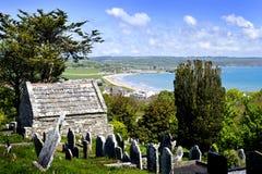 St. Declan's Way in Ardmore. St. Declan's Way is an ancient pilgrims' path in Ardmore Ireland Stock Photos