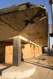 St del este constructivo abandonado Louis Illinois Decaying Structure fotos de archivo