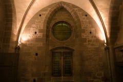 St dell'interno Michel in Normandie, Francia Fotografie Stock
