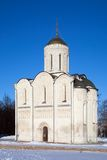 St. Demetrius Cathedral at Vladimir Stock Photo