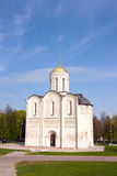 St. Demetrius Cathedral in Vladimir Stock Image