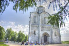 St. Demetrius Cathedral in Vladimir Royalty Free Stock Photography