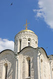 St. Demetrius' Cathedral in Vladimir Royalty Free Stock Photography