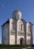 St Demetrius Cathedral Vladimir, Russia Stock Image