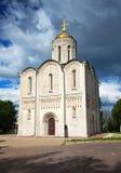 St. Demetrius Cathedral at Vladimir Stock Image