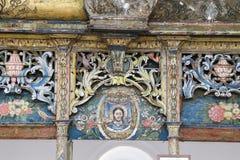 St Demetrius kościół w Sirince, Selcuk, Izmir zdjęcia royalty free