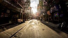 St di Chinatown Pell Fotografia Stock Libera da Diritti