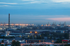 St di notte - Pietroburgo Fotografie Stock