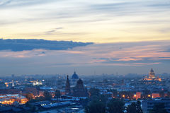 St di notte - Pietroburgo Immagine Stock Libera da Diritti