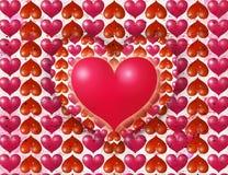 St. Dia s do Valentim de '' postal ilustração royalty free