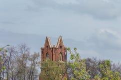 St dilapidado Nicolai Church Imagens de Stock Royalty Free