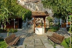 St Dimitrii скита утеса Basarbovo Стоковое Изображение RF