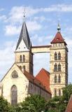 St dionys-I-Esslingen-Duitsland Stock Foto's