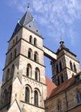 St dionys-I-Esslingen-Duitsland Stock Afbeeldingen