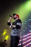ST do rapper em Moscou Foto de Stock Royalty Free
