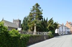 St. Dogfan, Llanrhaeadr-Ym-Mochnant 免版税库存图片