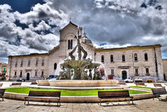 St. Domenico Church. Giovinazzo. Apulia. Stock Images