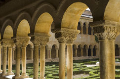 St. Domingo of Silos cloister Royalty Free Stock Image