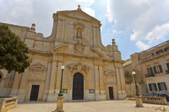 St Dominic Church in Rabat, Malta. Stock Photos
