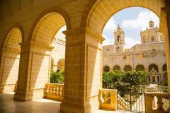 St Dominic i Malta Arkivfoton