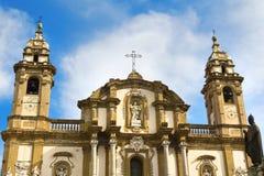 St Dominic in Palerm stockbild