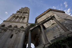 St Domnius da catedral, Split imagens de stock royalty free