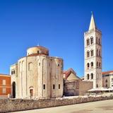 St Donat d'église dans Zadar, Croatie Photographie stock libre de droits