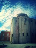 St. Donats Church. In - the center of Zadar, Croatia stretches Royalty Free Stock Photography