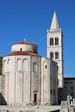 St Donatus Church de Zadar Photographie stock libre de droits