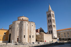 St. Donatus' Church, Zadar, Croatia Royalty Free Stock Photography