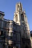 St Dunstan在这西部教会在伦敦 免版税图库摄影