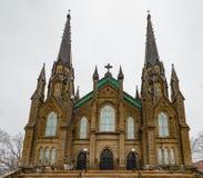 St Dunstan Basilica em Charlottetwon PEI Canada fotografia de stock