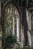 St Dunstan in the East Church Garden, destroyed in the Second World War royalty free stock images