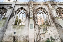 St. Dunstan in the East, London. St. Dunstan in the east in London Royalty Free Stock Photo