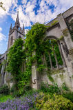 St Dunstan-in-the-East in London. Ruin of the church St Dunstan-in-the-East in London, UK Royalty Free Stock Photos