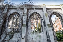 St. Dunstan in the East, London. St. Dunstan in the east in London Royalty Free Stock Image
