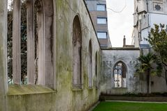 St. Dunstan in the East, London. St. Dunstan in the east in London Stock Photography