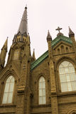 St. Dunstan's Roman Catholic Cathedral in Charlottetown in Canad Stock Photography