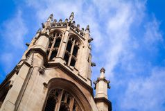 St Dunstan in the West Royalty Free Stock Photo