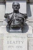 1st Earl Betty Bust in London Stock Photos