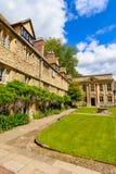 St Edmund Hall, istituto universitario, università di Oxford, Cotswolds, Inghilterra Fotografie Stock Libere da Diritti