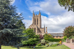 St Edmunds d'enfouissement en le Suffolk Photographie stock libre de droits
